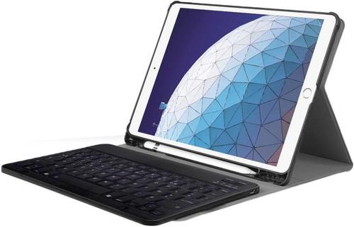pas mal 39a6a 94562 Just in Case Premium Housse Clavier Bluetooth pour Apple iPad Air (2019)  Noir AZERTY