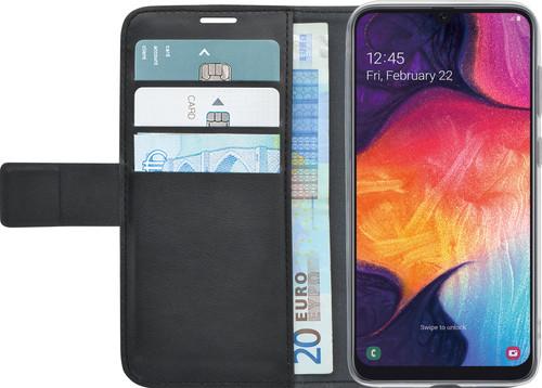 in vendita ac1ba 7794a Azuri Wallet Magnet Samsung Galaxy A50 Book Cover Black