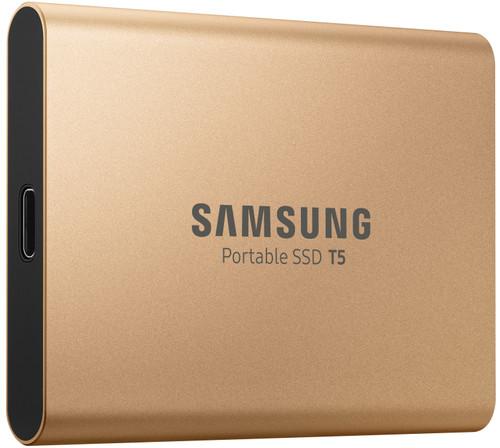 Samsung T5 500 Go Or rose Main Image