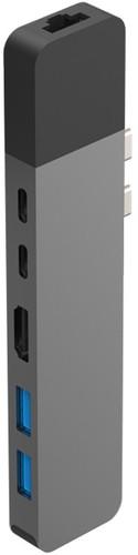 Hyper Station d'accueil USB-C vers HDMI, Ethernet et USB  Space Grey Main Image
