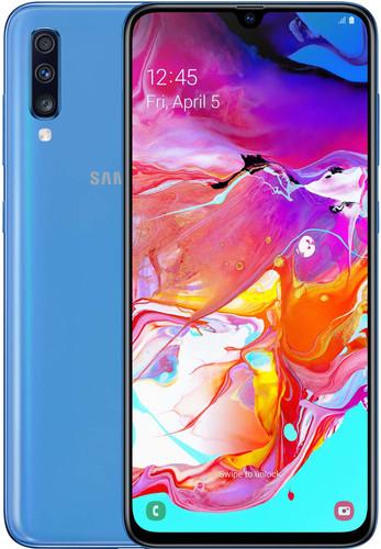 Samsung Galaxy A70 128GB Blauw Main Image