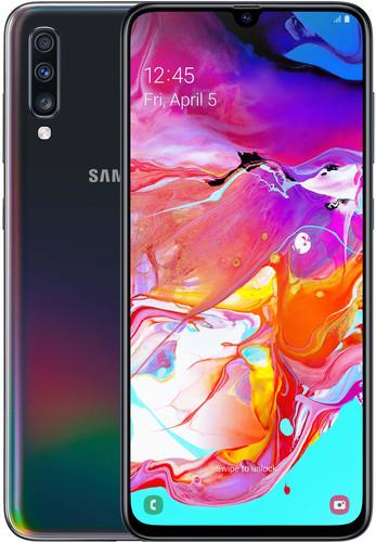 Samsung Galaxy A70 128GB Black Main Image