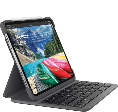 Logitech Slim Folio Apple iPad Pro 11 inches (2018) Keyboard Cover AZERTY Main Image