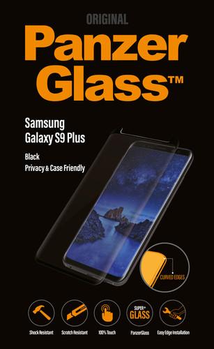 PanzerGlass Case Friendly Privacy Samsung Galaxy S9 Plus Screen Protector Glass Black Main Image