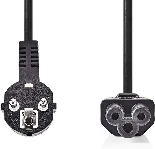 Nedis Câble d'alimentation Mickey Mouse 2 Mètres Noir Main Image