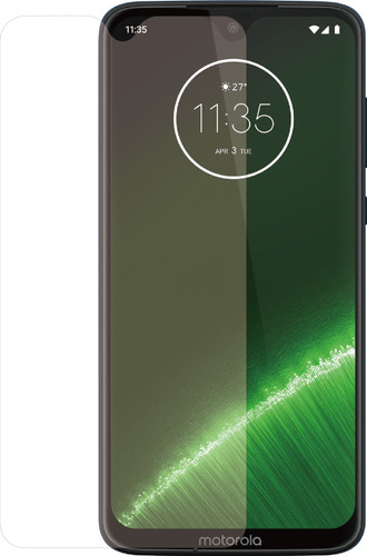 Azuri Rinox Tempered Glass Motorola G7 Plus Screen Protector Glass Transparent Main Image