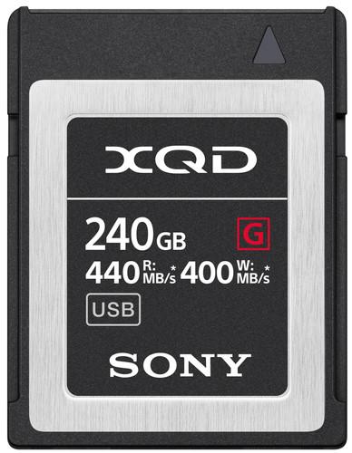 Sony XQD G 240 Go High Speed R440 W400 Main Image