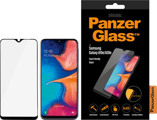 PanzerGlass Case Friendly Samsung Galaxy A20e Screen Protector Glass Black Main Image