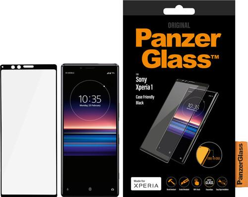 PanzerGlass Sony Xperia 1 Screenprotector Glas Zwart Main Image