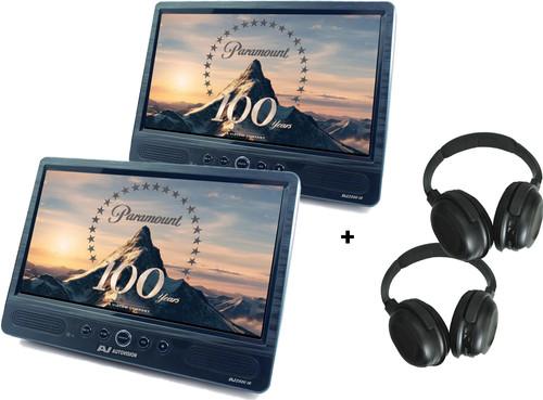 Autovision AV2500IR DUO Deluxe + 2x Autovision AV-IRS koptelefoon Main Image