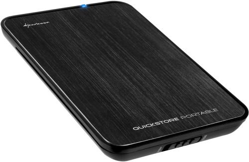 Sharkoon QuickStore Portable USB 3.0 2,5 pouces Noir Main Image