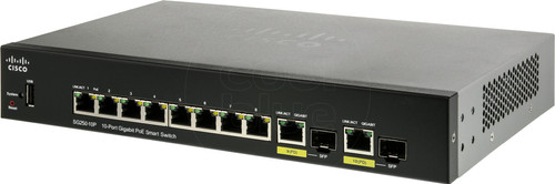 Cisco SG250-10P Main Image