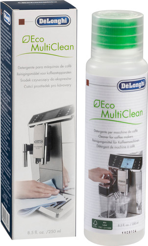 De'Longhi EcoMultiClean Milk Cleaner 250ml Main Image