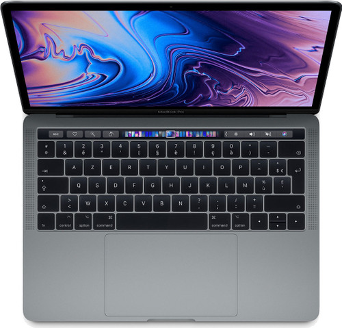 "Apple MacBook Pro 13"" Touch Bar (2019) 16/512 Go 2,4 GHz Gris sidéral Azerty Main Image"