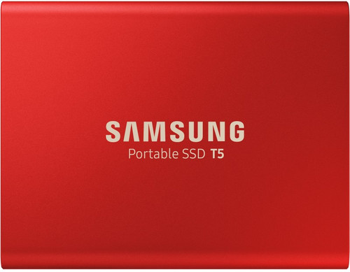 Samsung Portable SSD T5 500 Go Rouge Main Image