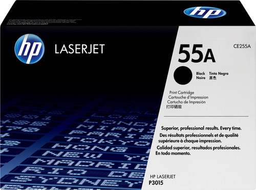 HP 55A LaserJet Toner Noir (CE255A) Main Image