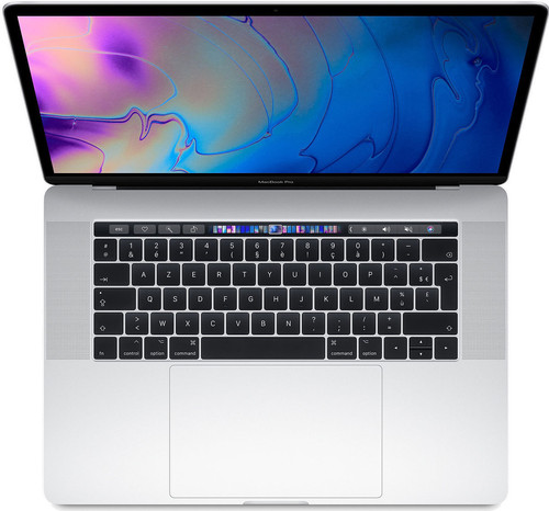 "Apple MacBook Pro 15"" Touch Bar (2019) MV922FN/A Zilver Azerty Main Image"