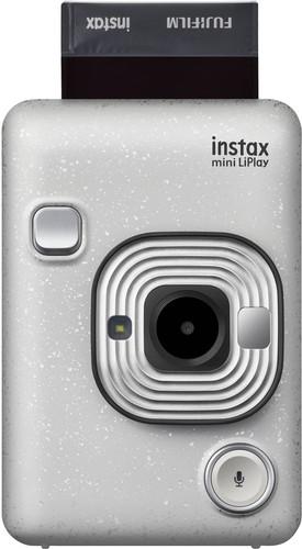 Fujifilm Instax mini LiPlay Stone White Main Image