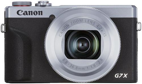 Canon PowerShot G7 X Mark III Argent Main Image