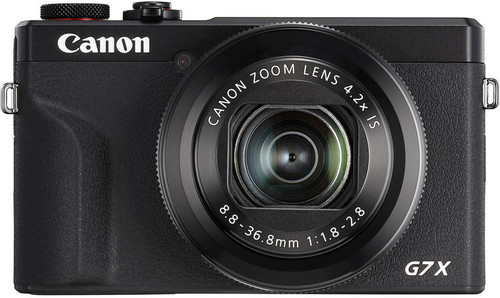 Canon PowerShot G7 X Mark III Noir Main Image