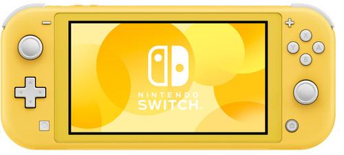 Nintendo Switch Lite Jaune Main Image