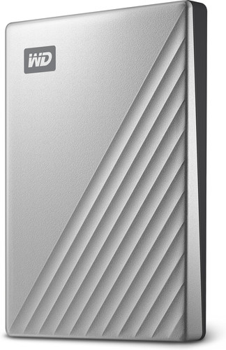 WD My Passport Ultra for Mac 4TB Silver Main Image