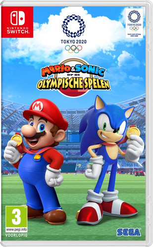 Image result for Mario & Sonic at the Olympic Games Tokyo 2020 cover switch""