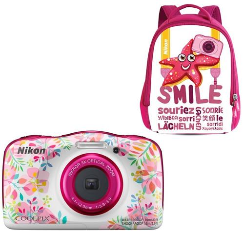 Nikon Coolpix W150 Kit Backpack Fleurs Main Image