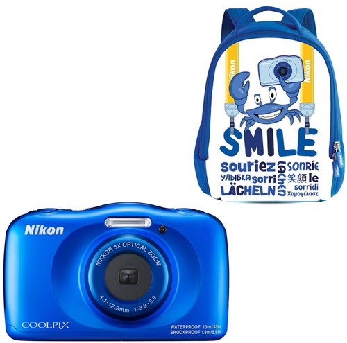 Nikon Coolpix W150 Kit Backpack Bleu Main Image