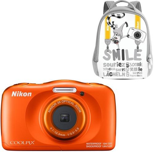 Nikon Coolpix W150 Kit Backpack Orange Main Image