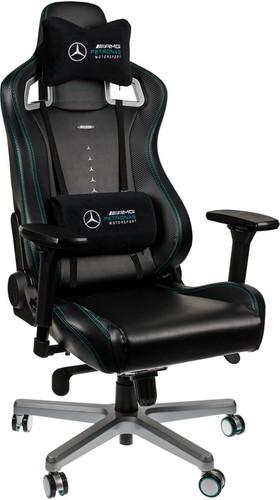 Surprising Noblechairs Epic Mercedes Amg Petronas Motorsport Edition Gaming Chair Black Silver Inzonedesignstudio Interior Chair Design Inzonedesignstudiocom