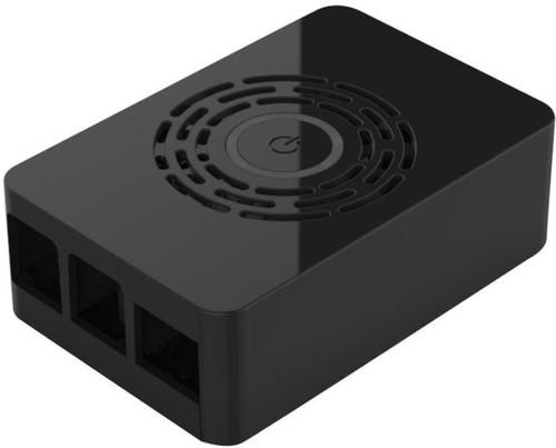 Multicomp Pro Raspberry Pi 4 behuizing - Power knop - Zwart Main Image