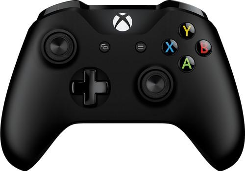 Microsoft Xbox One Manette Sans Fil Noir Main Image