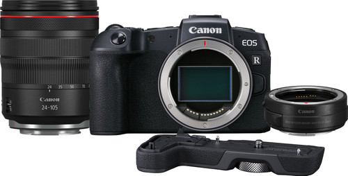 Canon EOS RP + EF-EOS R Adapter + RF 24-105mm f/4L + Grip EG-E1 Main Image