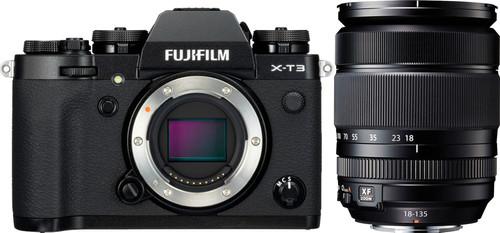 Fujifilm X-T3 Zwart + XF 18-135mm f/3.5-5.6 R Main Image