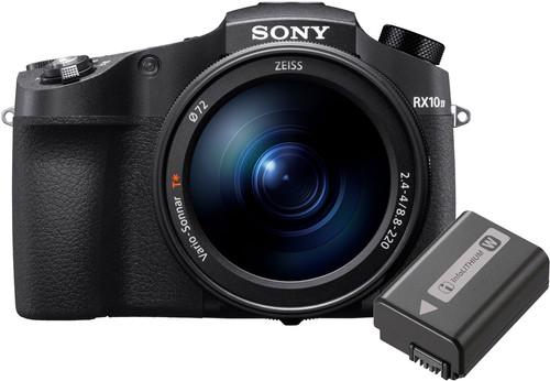 Sony Cybershot DSC-RX10 IV + Batterie Sony NP-FW50 Main Image