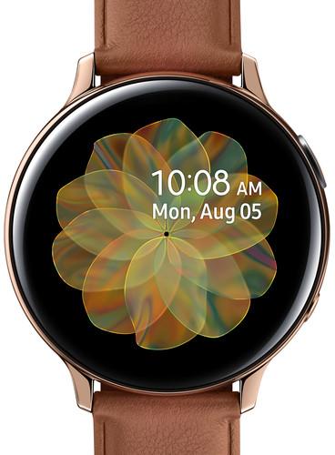 Samsung Galaxy Watch Active2 Goud / Bruin 44 mm RVS Main Image