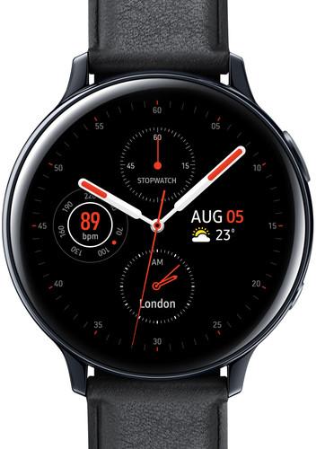 Samsung Galaxy Watch Active2 Zwart 44 mm RVS Main Image