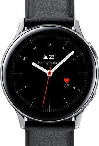 Samsung Galaxy Watch Active2 Zilver / Zwart 40 mm RVS Main Image