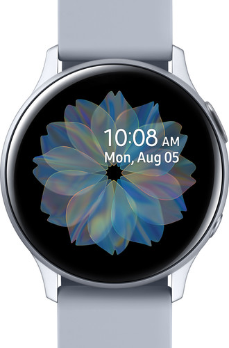 Samsung Galaxy Watch Active2 Zilver 40 mm Aluminium Main Image