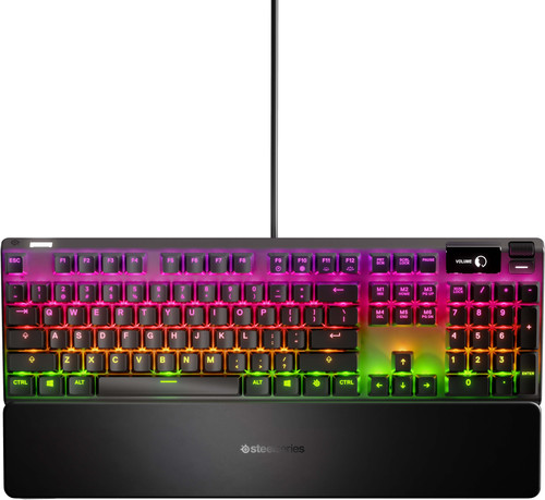 SteelSeries Apex 7 Red Clavier gamer QWERTY Main Image