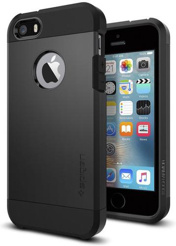 Spigen Tough Armor Apple iPhone 5/5S/5SE Zwart Main Image