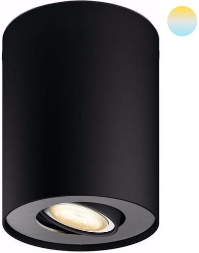 Philips Hue Pillar Single Spot Noir avec variateur Main Image
