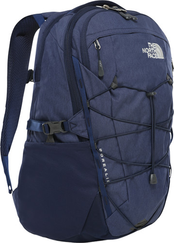 "The North Face Womens Borealis 15"" Montague Blue Light Heather/Grey 25L Main Image"