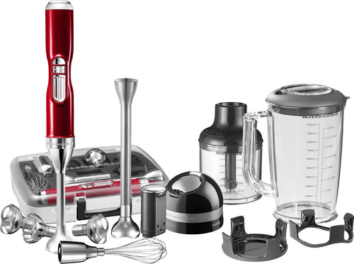 KitchenAid Artisan Cordless Immersion Blender with accessories
