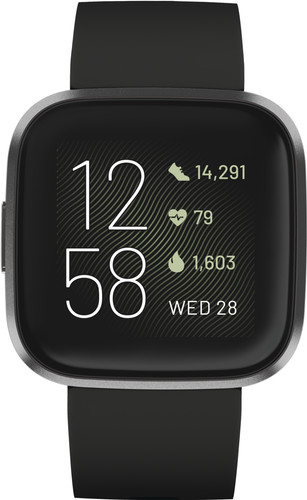 Fitbit Versa 2 Black Main Image