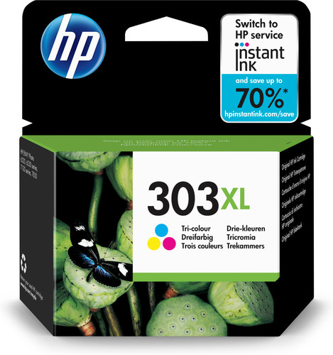 HP 303XL 3-Kleuren Pack (T6N03AE) Main Image