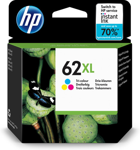 HP 62XL Cartridge 3-Color (C2P07AE) Main Image