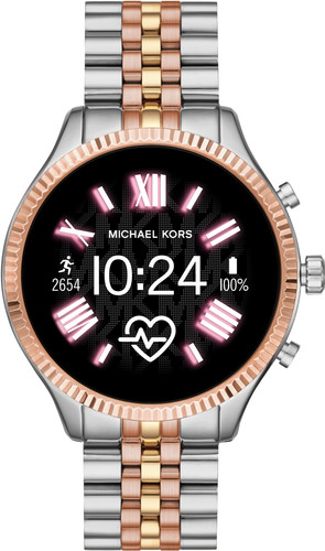 Michael Kors Access Lexington Gen 5 MKT5080 - Zilver/Rosé goud Main Image