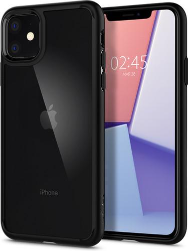 Spigen Ultra Hybrid Apple iPhone 11 Back Cover Black Main Image